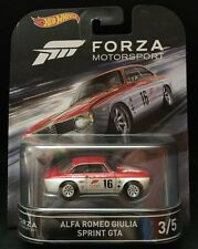 2016 Hot Wheels Forza Motorsport #3 Alfa Romeo Giulia Sprint GTA