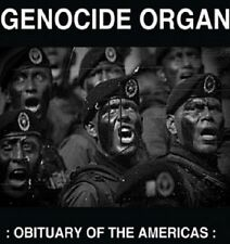 GENOCIDE ORGAN Obituary Of The America - LP / Black Vinyl - Limited Numbered