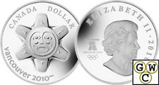 2010 'The Sun' Limited-Edition High-Relief Proof Silver Dollar $1 Coin (12597)