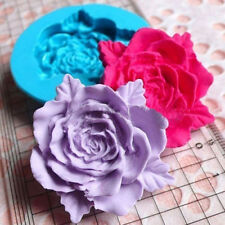 1x Rose Flower Silicone Cake Fondant Mould Wedding Cupcake Sugarcraft Mold