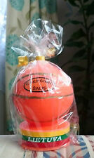 Handmade Candle Basketball LITHUANIA *NEW*
