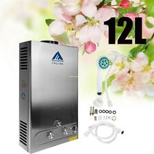 12L GAS LPG Hot Water Heater Propano tankless INSTANT CALDAIA IN ACCIAIO INOX CE
