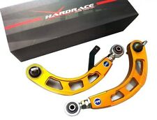HARDRACE 2006-2015 CIVIC REAR ADJUSTABLE CAMBER ARM KIT GOLD FA/FG/FK/FN/FD/FB