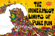 The Innermost Limits of Pure Fun Surf Sticker Vinyl