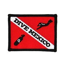 """Scuba Souvenir """"Dive Mexico"""" Travel Patch Sport & Recreation Iron-On Applique"""