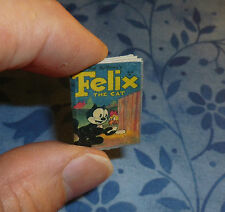 FELIX THE CAT DOLLHOUSE MINIATURE COMIC BOOK 1:12 SCALE  12 pages from 1953