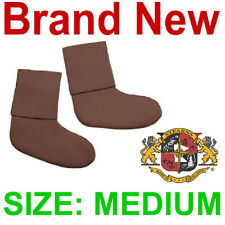 NEW PAIR STEARNS NEOPRENE BOOTIE SOCKS W/GRAVEL GUARDS,3MM,3 MIL,MEDIUM/M