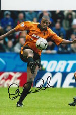 WOLVES HAND SIGNED CARL CORT 6X4 PHOTO.