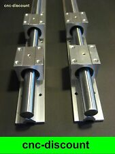 CNC Set 16x 400mm Linearführung Linear Guide Rail Stage