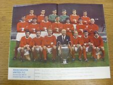 1968/1969 Football League Review: Vol 3 No 11 - Colour Picture - Manchester Unit