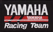 """Yamaha Racing Team 3 1/2"""" Embroidered Iron On Motorcycle Car Patch *New*"""