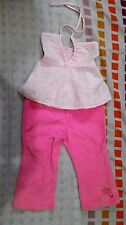 Blouse and corduroy pants terno for toddlers