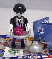 PLAYMOBIL 9146 Figures Boys serie 11, Butler spirito TESCHIO tavoletta gruppo #8 NUOVO