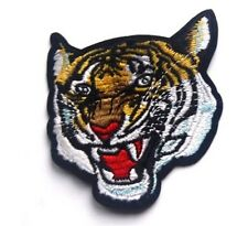 Tiger Big Cat Embroidered Iron Sew On Patch Applique Badge Lion Panther