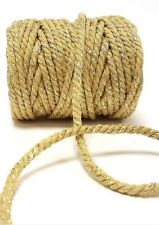 Very Thick Rope Twine Gold Bakers Coloured Glitter Sparkle Gift String Wedding