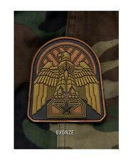 Velcro PVC Patch - Milspec Monkey MSM - INDUSTRIAL EAGLE - Morale - BRONZE