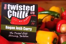 Curry IN POLVERE-Rogan Josh Curry-TWISTED Chilli-Peperoncino procedure guidate