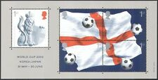 GB 2002 Football/World Cup/Sports/Games/Soccer/WC/Lion/Flag 5v m/s ref:b8550