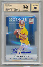 2012 Panini Elite Aspirations KIRK COUSINS RC Auto SP 30/49 BGS 9.5/10 REDSKINS!