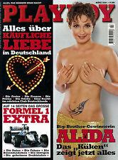 Playboy März/03/2001  Big-Brother ALIDA & Mariella Ahrens
