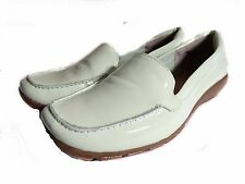 NIB Easy Spirit Abide Womens  Blue Moccasins Loafers Patent Leather Size 7.5 M