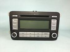 VW PASSAT B6 05-10 TOURAN GOLF MK5 RCD300 RADIO CD PLAYER HEADUNIT NO CODE