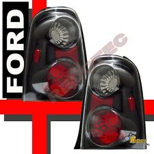 2001 2002 Ford Escape Black Tail Lights Lamps RH & LH