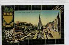 (Gt211-431) GRAHAM TARTAN, Princes Street West,  EDINBURGH c1910 Unused  EX