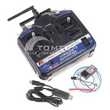 2.4G 6CH Radio Model RC Transmitter Receiver Plane Glid
