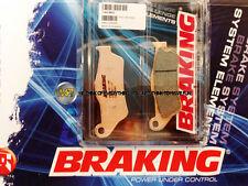 PER KTM EXC 125 2005 05 PASTIGLIE ANTERIORE SINTERIZZATE FRENO BRAKING CM55 SPOR