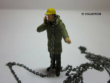 1:50 Crane Gray Chain Scale Model Car Yi collection Accessorie Diorama Diecast