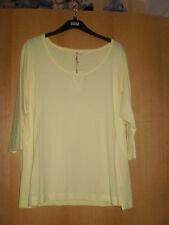M & S Indigo Cotton Blend T-Shirt Top BNWT Size 22
