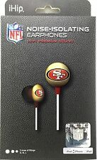 NFL San Francisco 49ers Ear Buds Headphones-ihip