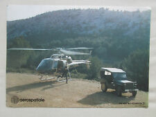 DOCUMENT HELICOPTERE AEROSPATIALE AS 355 M2 ECUREUIL 2 ARMEE FRANCAISE JEEP