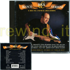 """CARLO VERDONE """"BIANCO ROCK & VERDONE"""" CD 1995 FUORI CATALOGO"""
