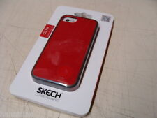 NEW SKECH Glow Red & Black Apple iPhone 5/5s Case Cover
