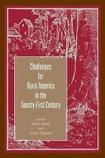Rural Studies: Challenges for Rural America in the Twenty-First Century...