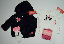 NWT Gymboree Tres Chic 3-6 Months Best Friends Poodle Tee Hoodie Leggings Socks