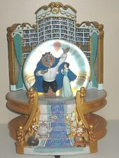 Disney's Beauty and the Beast Libary Musical Snowglobe *RARE*