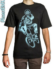 SE Racing STU THOMSEN T-Shirt old-school BMX ADULT X-LARGE shimano BLACK redline