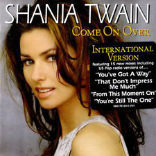 """Shania Twain """"Come on Over"""" International CD  *NEW* + FREE GIFT"""