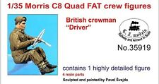 LZ MODELS MORRIS C8 QUAD FAT - BRITISH CREWMAN DRIVER Scala 1/35 Cod.35919