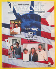 HOPES AND FEARS Chicago Tribune TV Week guide Apr 2 1995 Immigration Documentary