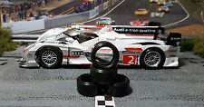 """XPG"" URETHANE SLOT CAR TIRES 2pr XPG-19105LM fits Slot.it Audi E-tron AWD"