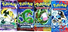 ① 4 BOOSTERS de CARTES POKEMON Neuf Aucun double en FRANCAIS (Lot N° AAM)