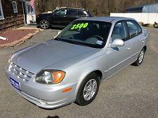 Hyundai: Accent 4dr Sdn GL M
