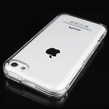 Clear Crystal Transparent Soft TPU Silicone Gel Cover Case Skin for iPhone 5C