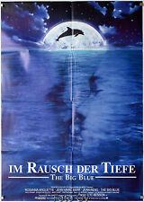 Im Rausch der Tiefe|Le grand bleu 1988 Luc Besson Jean Reno Filmplakat