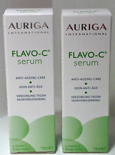 AURIGA FLAVO-C SERUM  Vitamin C - Anti Ageing/Wrinkles Face Skin Care Duo 15ml