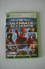 Marvel: Ultimate Alliance/Forza Motorsport 2 (Microsoft Xbox 360, 2007) WOW! EUC